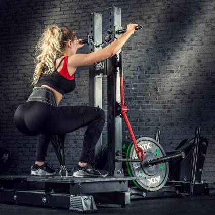 Stanowisko treningowe przysiady & dipping ATX® Belt Squat Machine,producent: ATX, zdjecie photo: 4 | klubfitness.pl | sprzęt spo