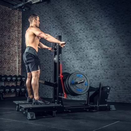 Stanowisko treningowe przysiady & dipping ATX® Belt Squat Machine,producent: ATX, zdjecie photo: 9 | klubfitness.pl | sprzęt spo