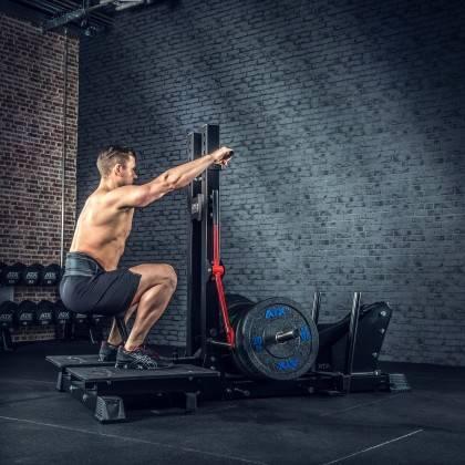 Stanowisko treningowe przysiady & dipping ATX® Belt Squat Machine,producent: ATX, zdjecie photo: 10 | klubfitness.pl | sprzęt sp