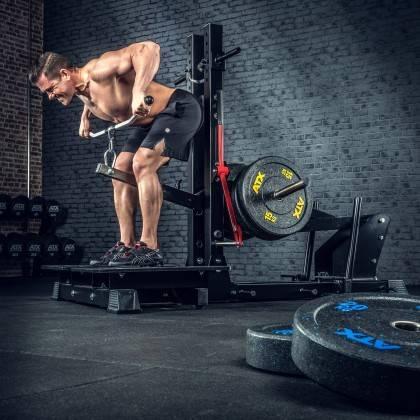 Stanowisko treningowe przysiady & dipping ATX® Belt Squat Machine,producent: ATX, zdjecie photo: 12 | klubfitness.pl | sprzęt sp