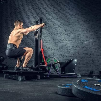Stanowisko treningowe przysiady & dipping ATX® Belt Squat Machine,producent: ATX, zdjecie photo: 15 | klubfitness.pl | sprzęt sp