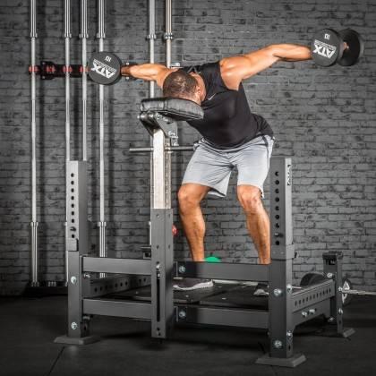 Platforma do treningu ze stangą ATX® Barbell Row Rack | stacja personalna,producent: ATX, zdjecie photo: 9 | klubfitness.pl | sp