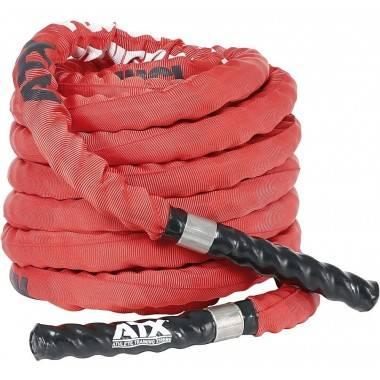 Lina nylonowa crossfit ATX® TAU-NPR-15M | długość 15m | czerwona ATX® - 1 | klubfitness.pl