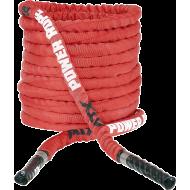 Lina nylonowa crossfit ATX® TAU-NPR-15M | długość 15m | czerwona ATX - 2 | klubfitness.pl | sprzęt sportowy sport equipment