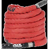 Lina nylonowa crossfit ATX® TAU-NPR-15M | długość 15m | czerwona ATX - 3 | klubfitness.pl | sprzęt sportowy sport equipment