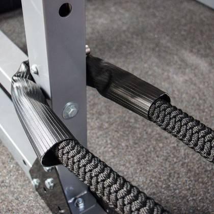 Lina nylonowa crossfit ATX® TAU-NPR-15M | długość 15m | czerwona ATX - 7 | klubfitness.pl | sprzęt sportowy sport equipment