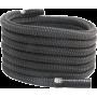 Lina poliestrowa crossfit ATX® TAU-POLY-20M | długość 20m | czarna ATX - 1 | klubfitness.pl | sprzęt sportowy sport equipment