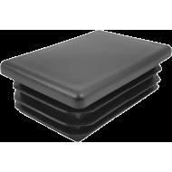 Zaślepka wewnętrzna prostokątna 40x60mm | czarna,producent: NONAME, zdjecie photo: 1