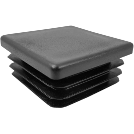 Zaślepka wewnętrzna kwadratowa 40x40mm | czarna,producent: NONAME, zdjecie photo: 1