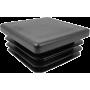 Zaślepka wewnętrzna kwadratowa 40x40mm | czarna NONAME - 1 | klubfitness.pl