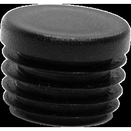 Zaślepka wewnętrzna okrągła ø27mm | czarna NONAME - 1 | klubfitness.pl