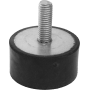 Odbój gumowy Ø40mm ze śrubą M8x20 NONAME - 1 | klubfitness.pl | sprzęt sportowy sport equipment