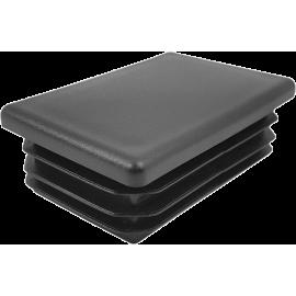 Zaślepka wewnętrzna prostokątna 40x30mm | czarna,producent: NONAME, zdjecie photo: 1
