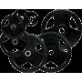 Obciążenie gumowane olimpijskie Stayer Sport NRB | waga: 1.25kg ÷ 25kg Stayer Sport - 1 | klubfitness.pl | sprzęt sportowy sport