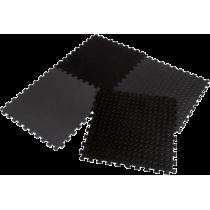 Mata amortyzująca puzzle EB Fit 61x61cm 12mm | 4 puzzle black,producent: EB FIT, zdjecie photo: 1 | online shop klubfitness.pl |