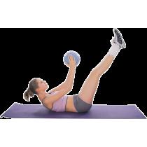 Piłka gimnastyczna aerobik pilates Insportline ø25cm   niebieska,producent: Insportline, zdjecie photo: 2