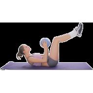 Piłka gimnastyczna aerobik pilates Insportline ø25cm   niebieska,producent: Insportline, zdjecie photo: 3