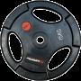 Obciążenie gumowane Insportline 15kg | 30,5mm | czarne Insportline - 1 | klubfitness.pl | sprzęt sportowy sport equipment