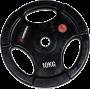Obciążenie gumowane Insportline 10kg | 30,5mm | czarne Insportline - 1 | klubfitness.pl | sprzęt sportowy sport equipment