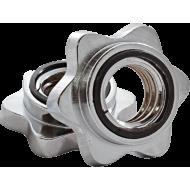 Zacisk chromowany gwiazdowy Stayer Sport na gryf o średnicy 25mm,producent: Stayer Sport, zdjecie photo: 1 | online shop klubfit