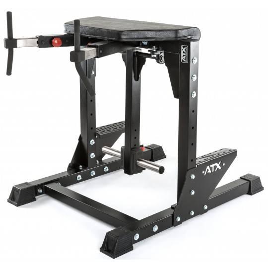 Stanowisko grzbiet & pośladki ATX® RHE-II | Reverse Hyper Extension II | na wolne obciążenia ATX - 1 | klubfitness.pl | sprzęt s
