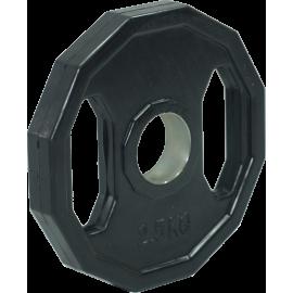 Obciążenie gumowane olimpijskie Stayer Sport 2.5kg | hex Stayer Sport - 1 | klubfitness.pl | sprzęt sportowy sport equipment