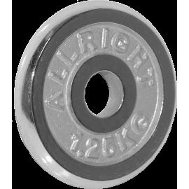 Obciążenie żeliwne chromowane Allright 1,25kg | 31mm ALLRIGHT - 1 | klubfitness.pl | sprzęt sportowy sport equipment