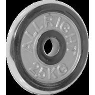 Obciążenie żeliwne chromowane Allright 2,5kg   31mm,producent: ALLRIGHT, zdjecie photo: 1