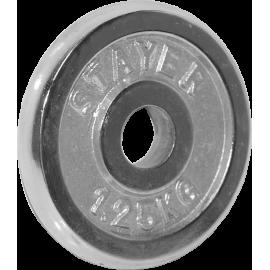 Obciążenie żeliwne chromowane Stayer Sport 1,25kg | 29,5mm Stayer Sport - 1 | klubfitness.pl | sprzęt sportowy sport equipment