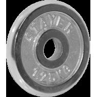 Obciążenie żeliwne chromowane Stayer Sport 1,25kg | 29,5mm,producent: Stayer Sport, zdjecie photo: 1
