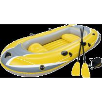 Ponton z wiosłami Bestway Hydro-Force Raft 61068 | 255x127cm Bestway - 1 | klubfitness.pl | sprzęt sportowy sport equipment