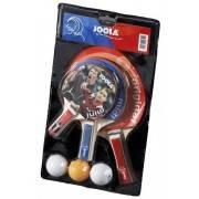 Zestaw do gry w tenisa stołowego JOOLA TRIPLE BAT trzy paletki, trzy piłeczki,producent: Joola, zdjecie photo: 1 | klubfitness.p