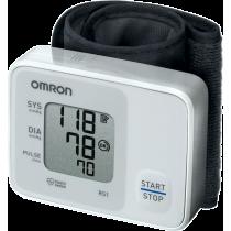 Ciśnieniomierz nadgarstkowy Omron RS1 | HEM-6120-E OMRON - 1 | klubfitness.pl
