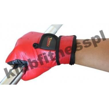 Rękawiczki kulturystyczne skórzane FIGHTER czerwone FIGHTER - 3 | klubfitness.pl | sprzęt sportowy sport equipment