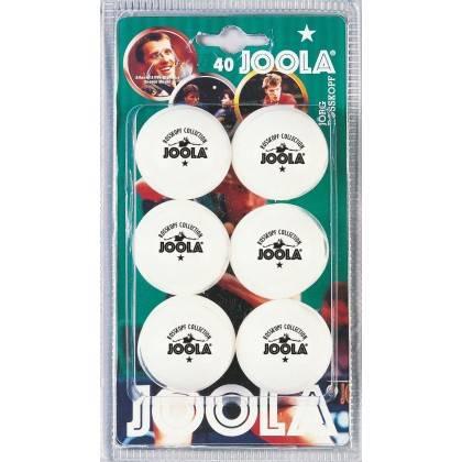 Piłeczki tenis stołowy Joola Rossi 40+ * | opakowanie 6szt | white Joola - 1 | klubfitness.pl