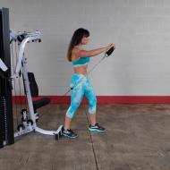 Atlas wielofunkcyjny do ćwiczeń Body-Solid EXM4000S | stosy 3x95kg Body-Solid - 4 | klubfitness.pl | sprzęt sportowy sport equip