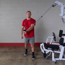 Atlas wielofunkcyjny do ćwiczeń Body-Solid EXM4000S | stosy 3x95kg Body-Solid - 5 | klubfitness.pl | sprzęt sportowy sport equip