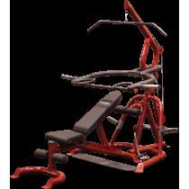 Atlas do ćwiczeń na wolne obciążenia Body-Solid GLGS100P4 czerwony BodySolid - 1 | klubfitness.pl
