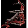Atlas do ćwiczeń na wolne obciążenia Body-Solid GLGS100P4 czerwony,producent: Body-Solid, zdjecie photo: 6   online shop klubfit