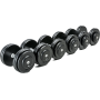 Hantla stała żeliwna CHD® CHD-G-2 | 4kg ÷ 80kg | wzrost wagi co 2kg CHD® | California Heavy Duty - 1 | klubfitness.pl | sprzęt s