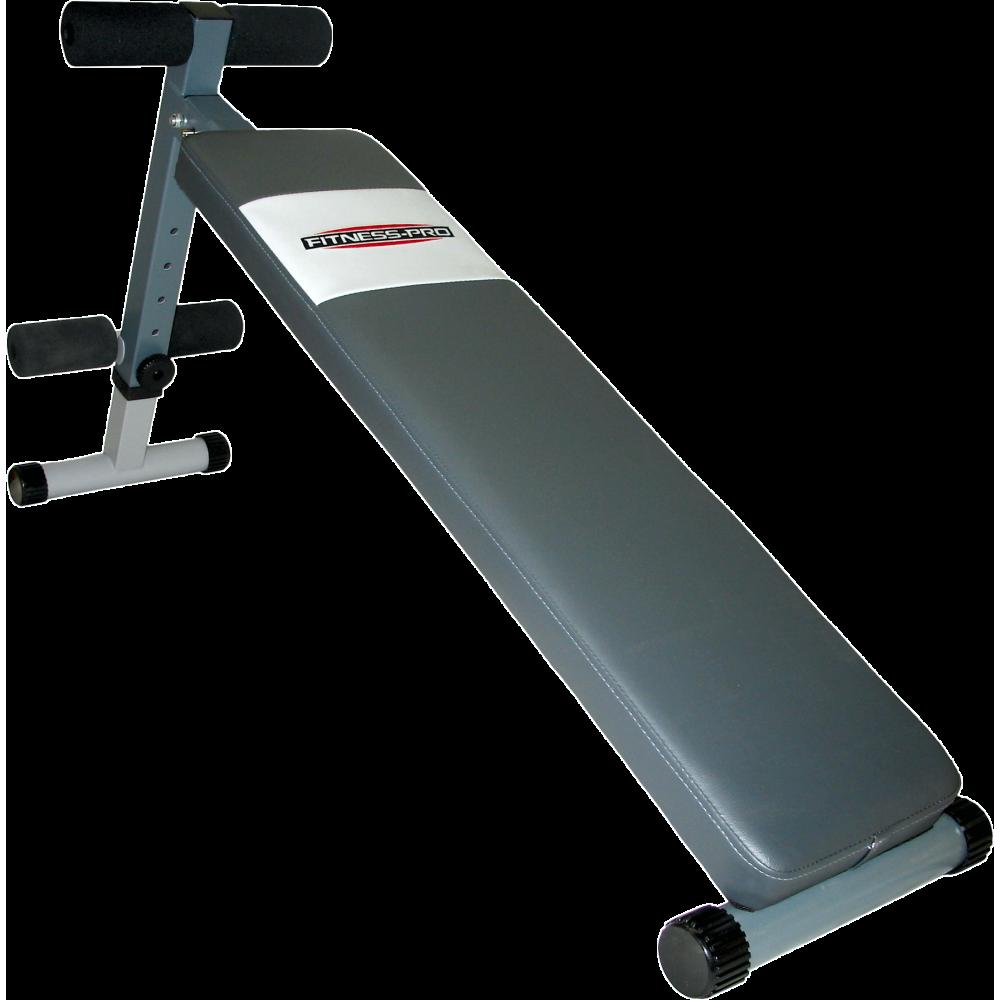 Ławka skośna na mięśnie brzucha Fitness-Pro Pro-500 FITNESS-PRO - 1 | klubfitness.pl