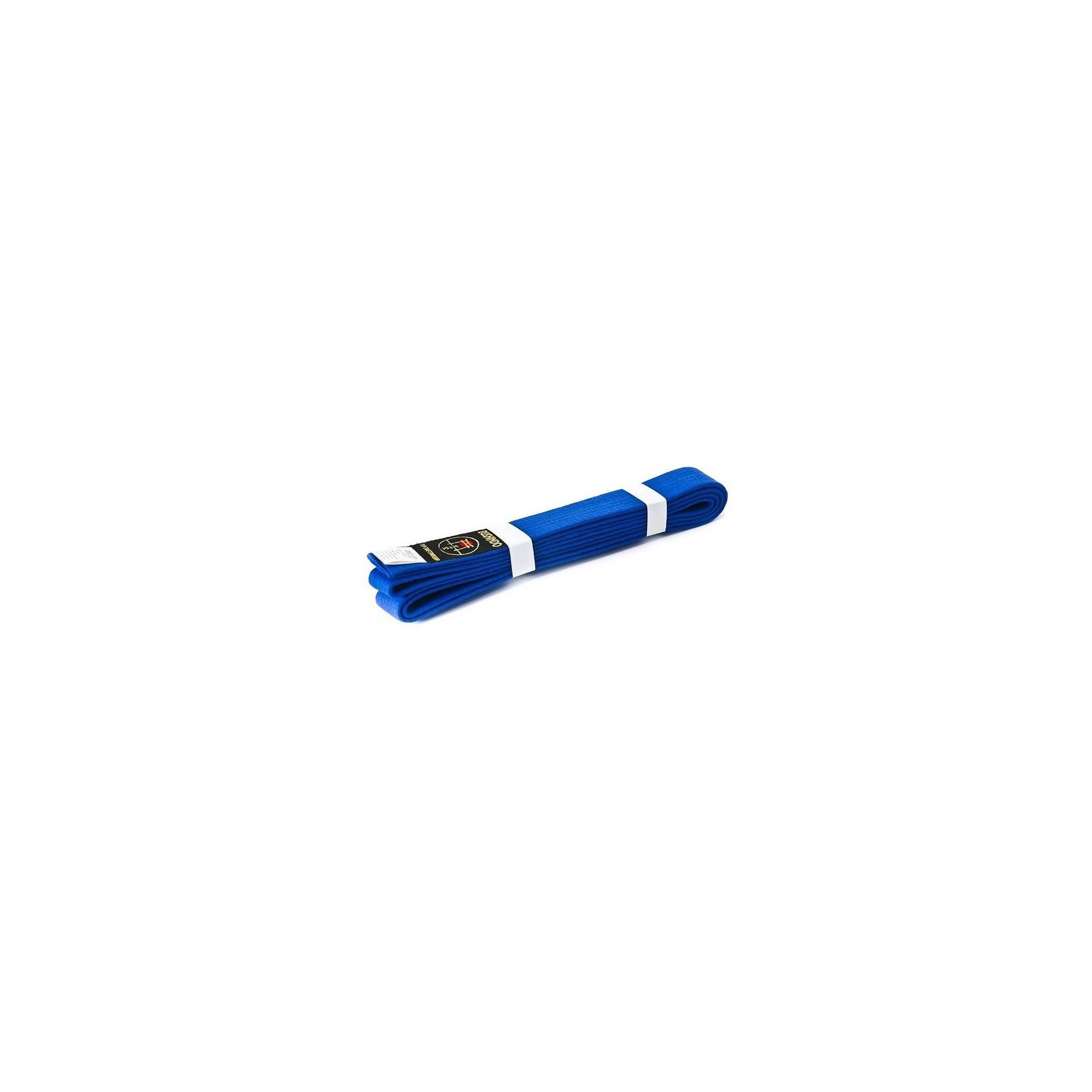 Pas do kimona Bushindo | niebieski | długość 220cm - 300cm Bushindo - 1 | klubfitness.pl | sprzęt sportowy sport equipment