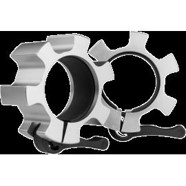 Zaciski szczękowe olimpijskie HMS LOCK JAW ZG1500 | srebrne | aluminiowe,producent: HMS, zdjecie photo: 1 | klubfitness.pl | spr