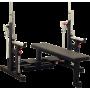 Ławka do trójboju siłowego Interatletika ST327 | black Interatletika - 1 | klubfitness.pl | sprzęt sportowy sport equipment