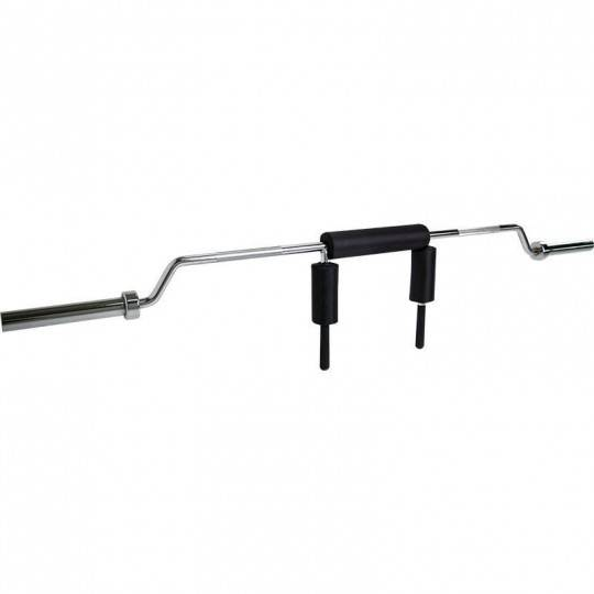 Gryf olimpijski do przysiadów Ironsports LH-50-SQ | 220cm squat bar chrom,producent: IRONSPORTS, zdjecie photo: 1 | online shop