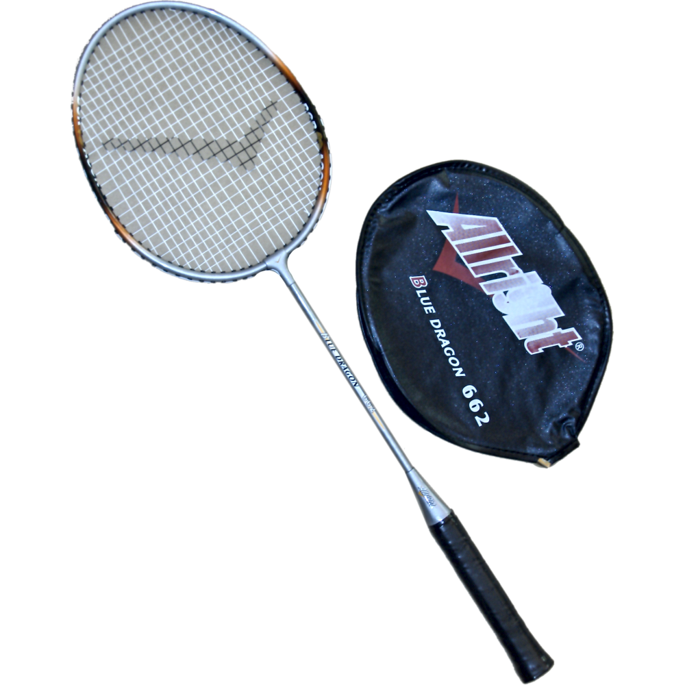 Rakieta badminton Allright Blue Dragon 662 | pokrowiec 1/2 ALLRIGHT - 1 | klubfitness.pl