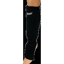 Nagolennik ze stopą elastyczny wciągany Allright | czarny ALLRIGHT - 1 | klubfitness.pl