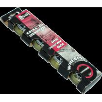 Kółka do rolek Signa PUC 70x24mm 82A   kauczukowe,producent: Signa, zdjecie photo: 1   online shop klubfitness.pl   sprzęt sport