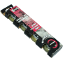Kółka do rolek Signa PUC 70x24mm 82A | kauczukowe,producent: Signa, zdjecie photo: 1 | online shop klubfitness.pl | sprzęt sport