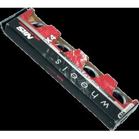 Kółka do rolek Nils PUC 65x24mm 82A | kauczukowe NILS - 1 | klubfitness.pl | sprzęt sportowy sport equipment
